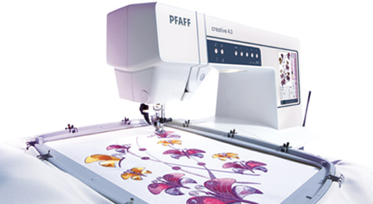 Buy Pfaff - embroidery machines