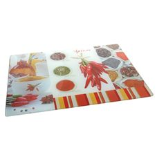 Buy Perfect Chef - Spices Glass Chopping Board 40x30cm