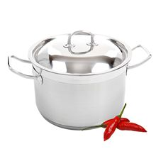 Buy Benzer - City Life Professional Casserole with Lid 4.0 Ltr 20cm 18/10 Stainless Steel