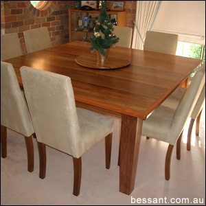 8 Seater Square Dining Table In Hazelbrook
