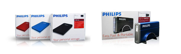Buy Philips USB 2.0 External HD Drives