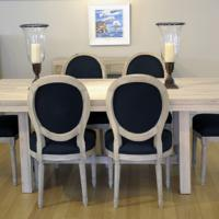 Buy Weathered Oak Dining Table