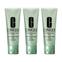 Buy Clinique 3 Little Liquids Soaps - Mild 150ml