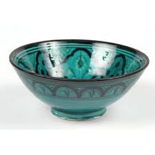 Buy Safi Style salad bowl with intricate hand paint design