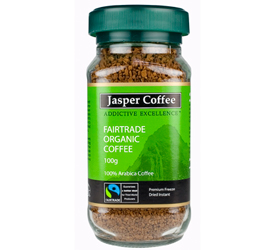 Buy Jasper Coffee Instant Coffee Fair Trade Organic