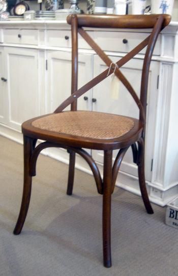 Bistro Cross Back Chair