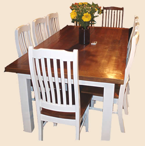 9 piece dining set white images