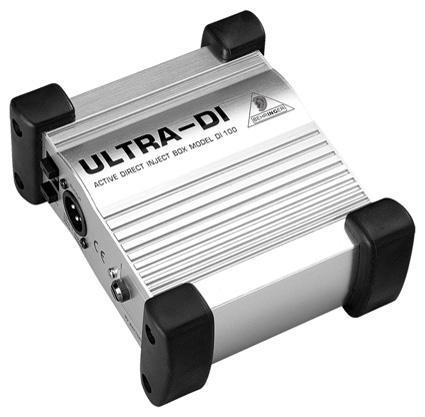 Buy DI box - ultra rugged - active - Behringer. DI100