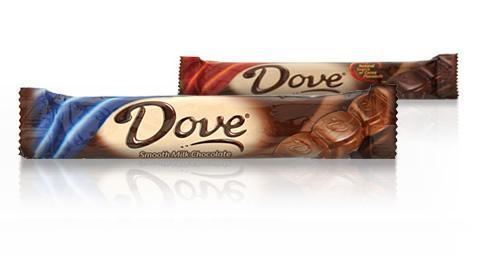 Chocolate Bars Dove