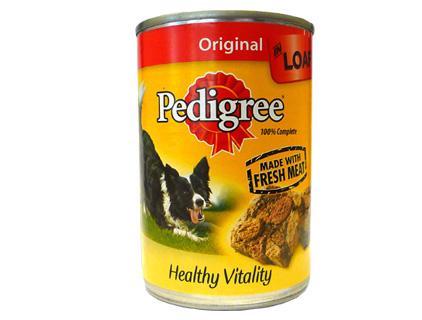 Dog's Nutrition Pedigree
