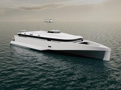 Austal shadow vessel 54 in Henderson online-s