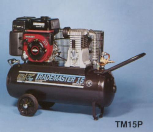 Buy Petrol Air Compressor, Trademaster 15P