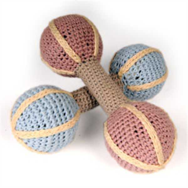 Hand Crocheted Baby Rattle