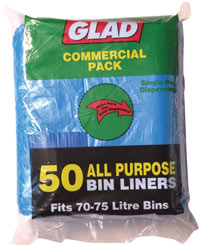 Buy Bin Liners, Glad