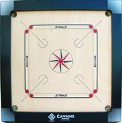 Buy STRIKE (Black) Carrom Board