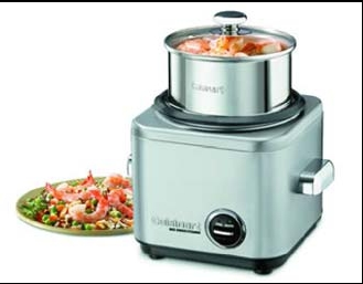 Buy Rice Cooker - 4 Cup Stainless Brushed