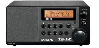 Buy Sangean DDR-31 table-top digital radio