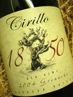 Buy Wine Cirillo 1850's Grenache 2005