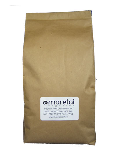 Buy Organic Raw Cacao Paste 1Kg