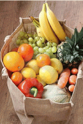 Buy Large Organic Fruit Bag