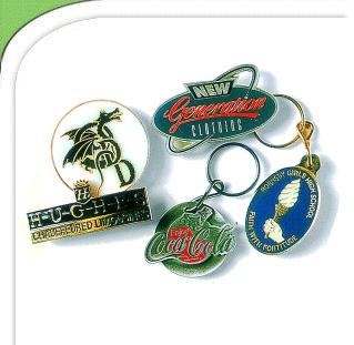 Buy Enamel badges and key rings