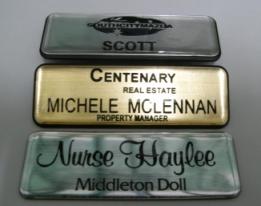 Buy Plastic name badges