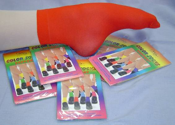 Buy Coloured Dance Socks