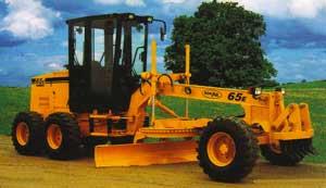 Buy Compact Grader, Model 65E Turbo Motor Grader