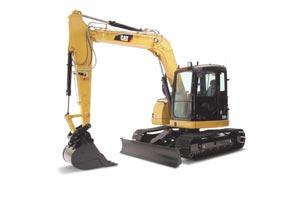 Buy Excavators, Model Caterpillar 308D CR (8 ton excavator)