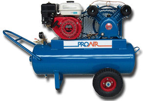 Petrol Air Compressors, Model 55524
