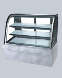 Buy Cake display with curved glass