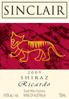 Buy 2009 Shiraz Ricardo Wine