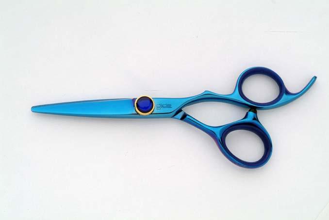 """Buy Glide Blue Titanium Scissor 5"""""""