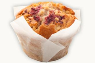 Buy Raspberry & White Chocolate Muffin
