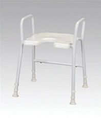 Buy Aluminium Shower Stool & Arms