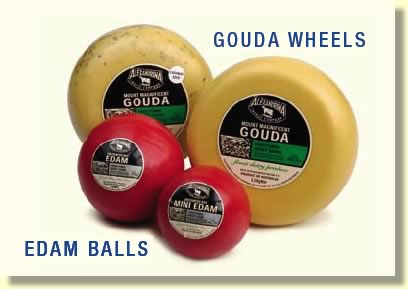 Buy Gouda Cheese Wheels & Edam Cheese Balls