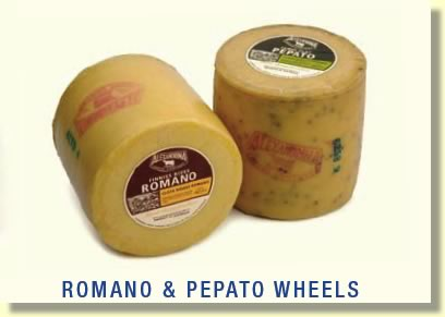 Buy Romano & Petato Cheese Wheels