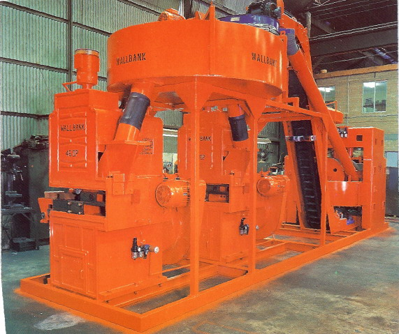 Buy Wallbank 46DP Brick Making Plant