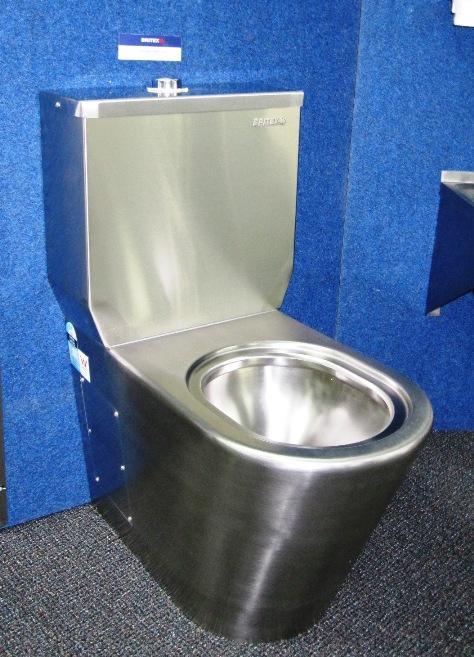 Buy Britex Stainless Steel Toilet Suite - WC