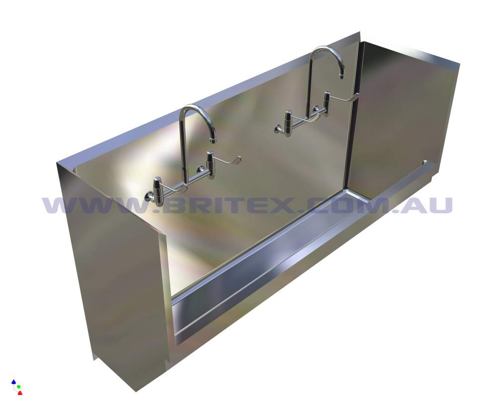 Buy Britex Stainless Steel Surgeons Scrub Trough
