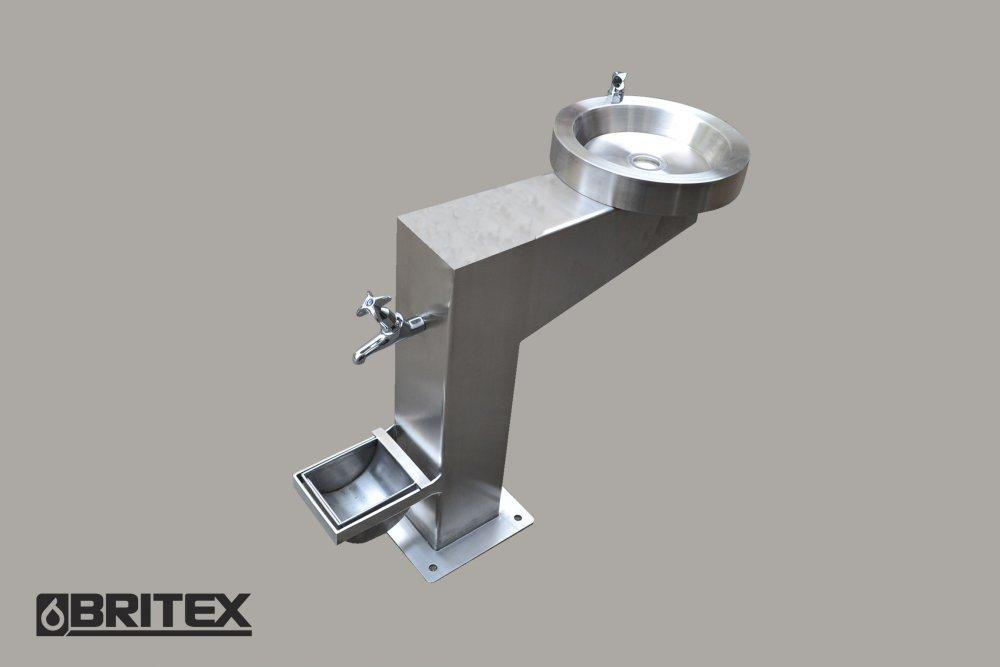 Buy Britex Disabled Pedestal Drinking Fountain