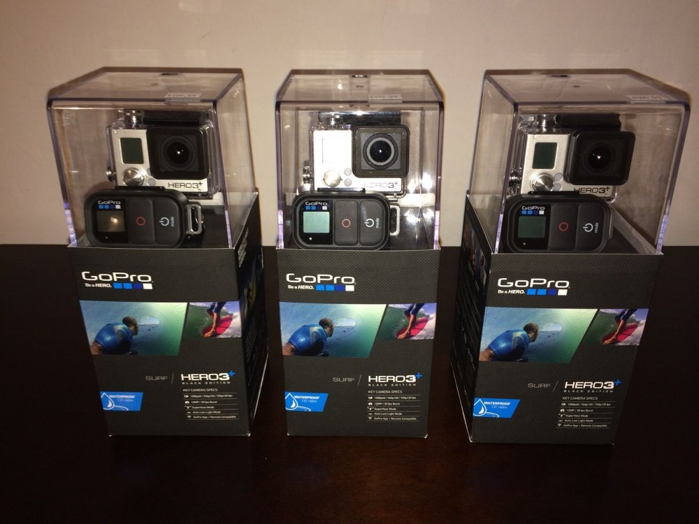 Buy GoPro Hero 3+ Black Edition Surf HD Pro