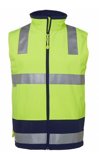 Buy  JB's Wear - Hi Vis Soft Shell Vest with Tape