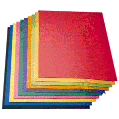 Buy Construction Paper 120 A4 Sheets