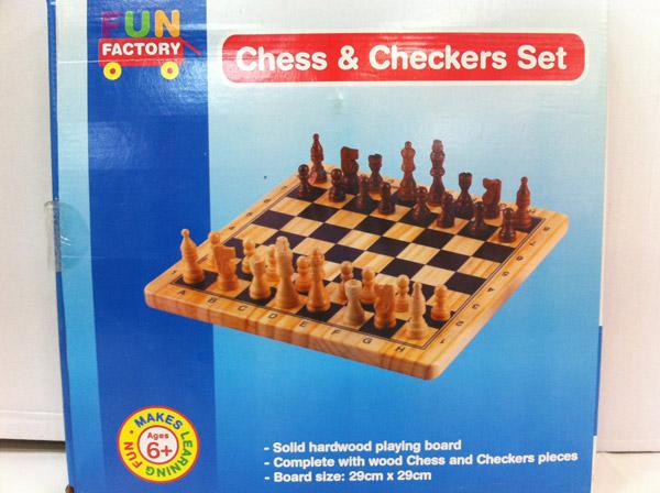 Buy Chess & Checkers Set