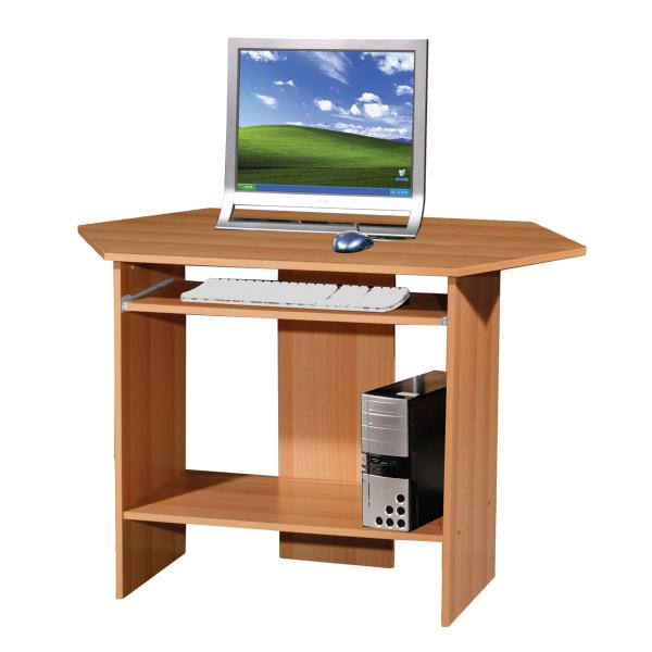 Buy Corner Computer Desk - Beech Look