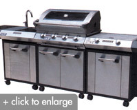 SUNCO: SC28 4 Burner Outdoor Kitchen
