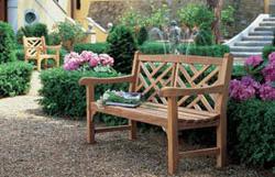 Buy Outdoor Teak Garden Benches