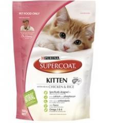 Supercoat Kitten Food