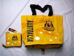 Australian Commonwealth design foldaway travel bag